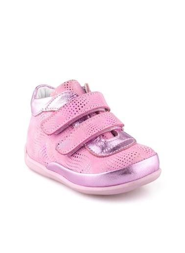 Cici Bebe Ayakkabı Deri Kız Çocuk Bot Pembe
